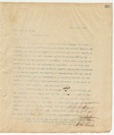 Letter to Hon. Geo. A. Wilson, April 6, 1895