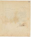 Letter to Hon. H.M. Street, April 7, 1895