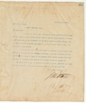 Letter to Mr. W.A. Stone, April 15, 1895