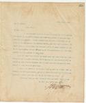 Letter to Dr. J. Gibert, April 15, 1895