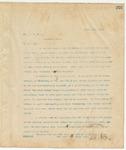 Letter to Hon. E. H. Moore, April 15, 1895