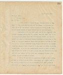 Letter to Mr. D.C. Roby, April 15, 1895