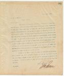 Letter to Mr. J.J Halbert, April 16, 1895
