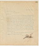 Letter to J.M. Williamson, Esq., April 16, 1895
