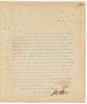 Letter to Hon R.A. Hill, April 18, 1895