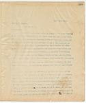 Letter to Hon L.P. Reynolds, April 20, 1895
