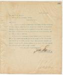 Letter to Hon. Charles D. Walcott, April 21, 1895