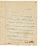 Letter to Mr. Jas. M. Lawrence, April 22, 1895