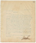 Letter to W. H. Powell, Esq.,April 22, 1895