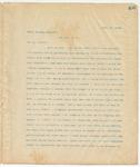 Letter to Major Douglas Walworth, April 25, 1895