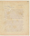 Letter to Capt. J.S. McNeily, June 8, 1895