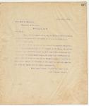 Letter to Hon. John G. Carlisle, July 10, 1895