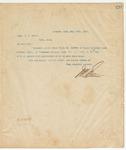 Letter to Capt. C.J. Hyatt, July 29, 1895
