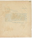 Letter to Gov. W.C.Oates, August 18, 1895