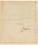 Letter to Gov. Wm. C. Oates, September 17, 1895