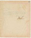 Letter to Capt. C.J. Hyatt, October 8, 1895