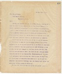 Letter to Hon W.L. Wilson, October 21, 1895