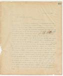 Letter to President Grover Cleveland, November 4, 1895