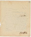 Letter to Hon. T.C Catchings, November 4, 1895