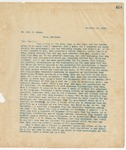 Letter to Mr. Jas. W. Coman, November 27, 1895