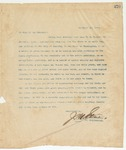 Letter to To Whom it may Concern, November 30, 1895