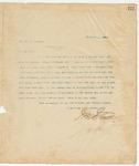 Letter to Hon. Q.O. Eckford, December 1, 1895