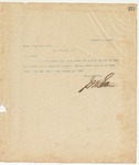 Letter to Mess. Nichelson & Co., December 2, 1895