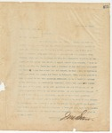 Letter to Hon. T. C. Catchings, December 9, 1895