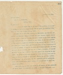 Letter to Gov. C.B. Culberson, December 15, 1895