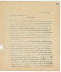 Letter to Hon. Edward H. Haskell, December 16, 1895