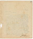 Letter to Hon. M.A. Deas, December 18, 1895