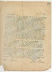 Letter to Capt. W.G. Nelms, December 22, 1895