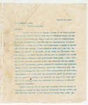Letter to B.G. Humphries, Esq., December 24, 1895