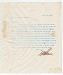 Letter to American Publishing Association, December 26, 1895