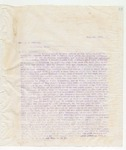 Letter to Hon. J.S. McNeily, July 16, 1896
