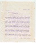 Letter to Mr. Thos. G. Rapier, September 11, 1896