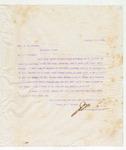 Letter to Hon. R.M. Street, February 26, 1898