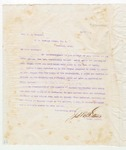 Letter to Bro. L.A. Benotst, March 4, 1898 by John Marshall Stone