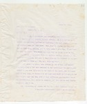 Letter to Hon. John S. Williams, March 21, 1898