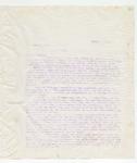 Letter to Mr. James W. Coman, April 1, 1898