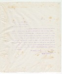 Letter to Brother W.L. Davis, May 2, 1898