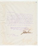 Letter to Brother W.M.Conner, May 9, 1898