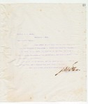 Letter to Brother J.W. Hicks, May 24, 1898