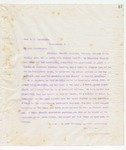Letter to Hon. T.C Catchings, May 25, 1898