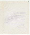 Letter to Gen Russel A. Alger, July 12, 1898