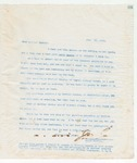 Letter to Brother Speed, July 30, 1898