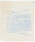 Letter to Mr. James M. Brilkley, July 29, 1898