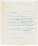 Letter to Mr. J.R. Clark, August 3, 1898