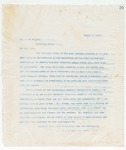 Letter to Mr. J.H. Wright, August 3, 1898