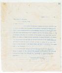 Letter to Mr. James. H. Neville, August 7, 1898